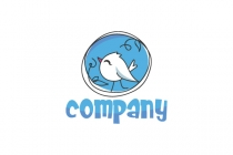 Happy Bird Logo